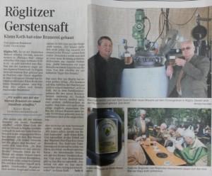 Mitteldeutsche Zeitung 26.04.2007